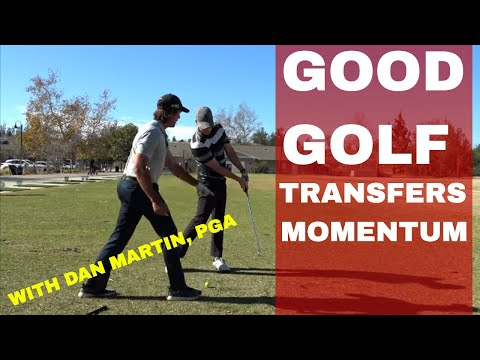 LEARNING TO TRANSFER MOMENTUM LIKE THIS IS THE REAL SECRET TO GOLF | DAN MARTIN ON BE BETTER GOLF