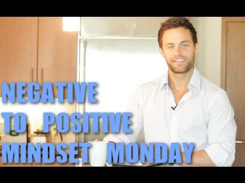 HOW TO STAY POSITIVE WHEN YOU DON'T FEEL LIKE IT - DREW CANOLE