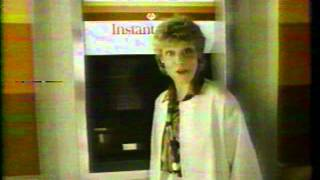Anne Murray Bank of Commerce ATMs 1983