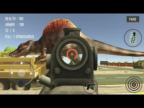 Dinosaur Hunter Dino City 2017 Android Gameplay #2