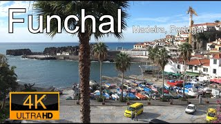 Funchal, Madeira in 4K