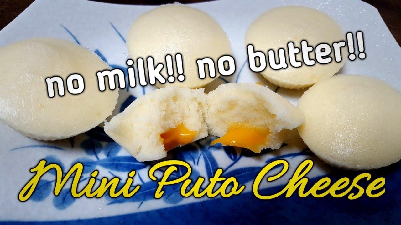NO MILK NO BUTTER MINI PUTO CHEESE