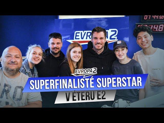 SUPERFINALISTÉ SUPERSTAR v Ranní Show EVROPY 2! Zazpívali nám?
