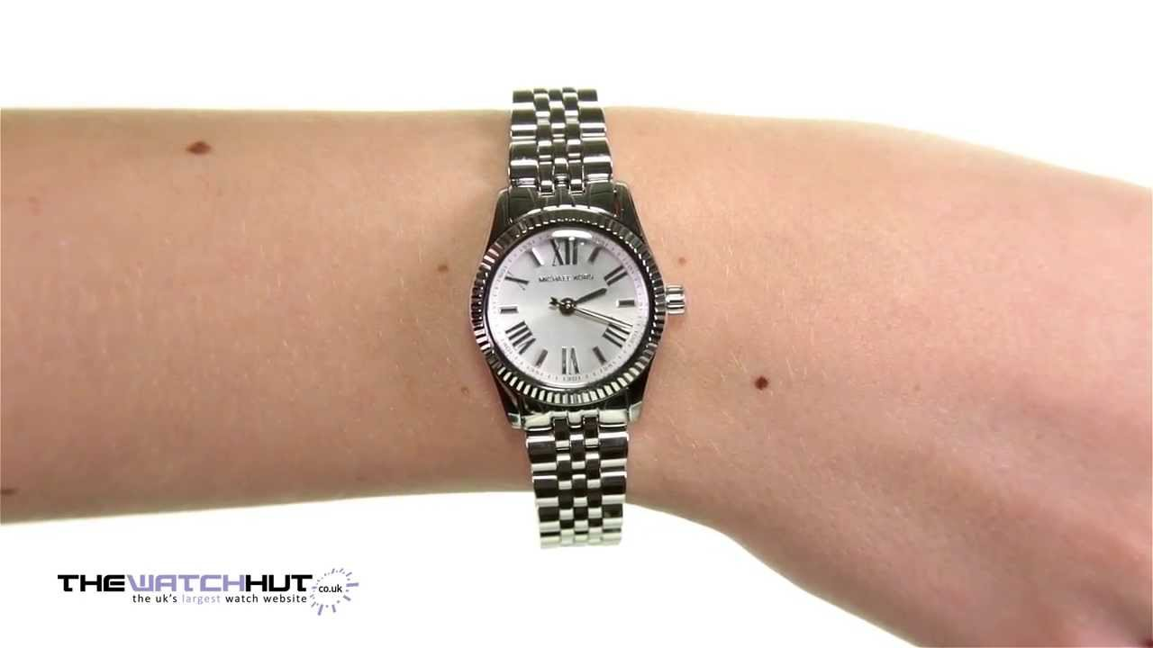 cbcd051314f4 Michael Kors Ladies Lexington Watch MK3228 - YouTube