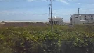 2019/08/31 普通いわき行き 富岡駅発車後 車内放送