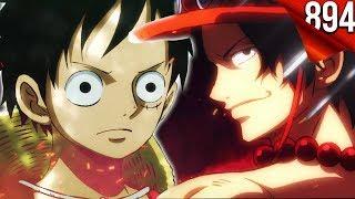 One Piece Folge 894 zeigt Ruffys VERÄNDERUNG 'dank' Ace...