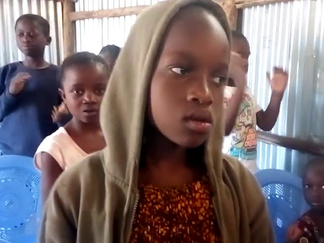 Kibera Slum Children's Worship GMFC - WFF Kenya