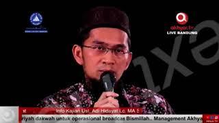 Hati hati dengan Hati Ustadz Adi Hidayat dan Aa Gym 30 April 2018