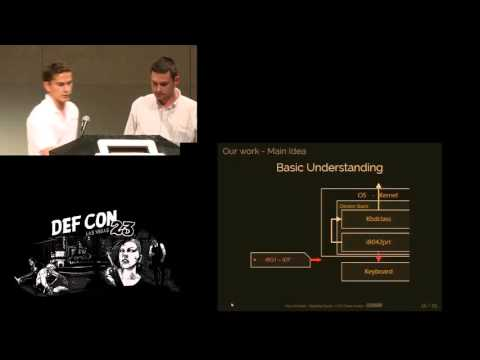 -  Paul Amicelli & Baptiste David - How to secure the Keyboard Chain