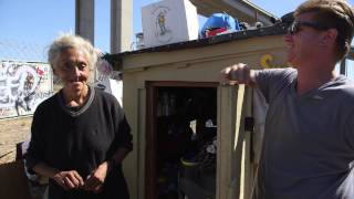 Repeat youtube video A Big-Hearted Man and His Calling to Build Tiny Houses for Oakland's Homeless