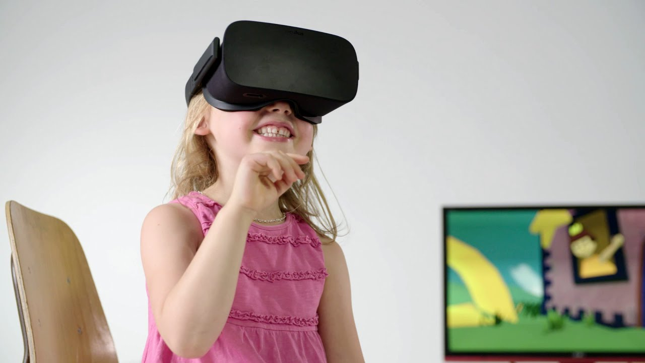 Kids experience their dream home in virtual reality youtube for Vr for home