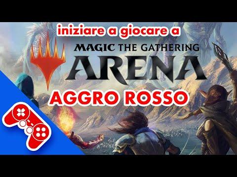 Magic the Gathering Arena: istruzioni e gameplay con il devastante MONO ROSSO - MTG ITA