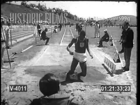 Ralph Boston Long Jump in Slow Motion
