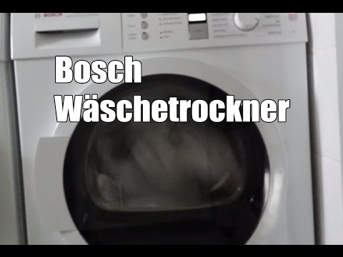 Bosch Trockner WTW86362 Warmepumpentrockner Test
