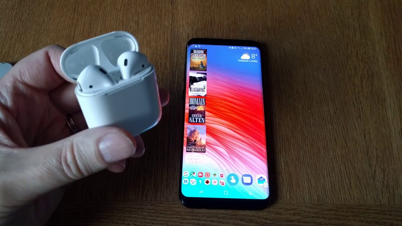 How To Check Your Apple Airpods Battery Status On Android Youtube