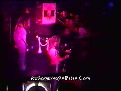 KoRn Various Live Footage From 1995 Rare