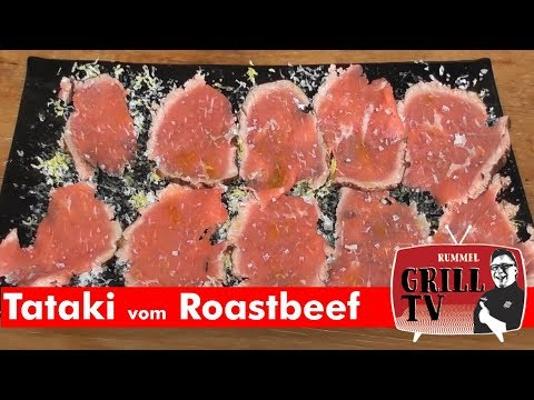 Tataki vom Roastbeef
