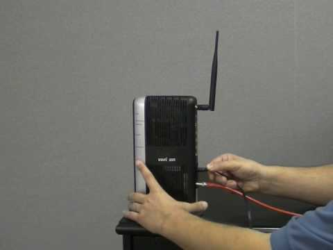 verizon router ethernet wall jack wiring how to set up the mi424wr verizon fios router youtube  mi424wr verizon fios router