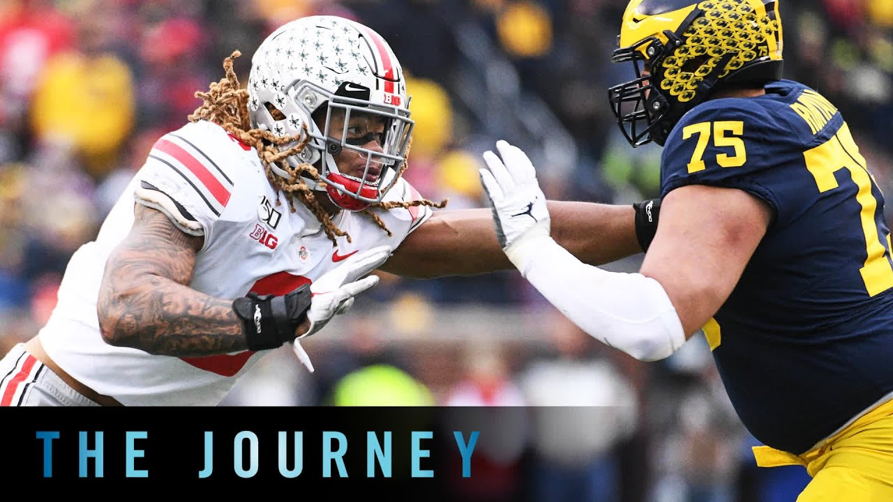 Chase Young The Predator Ohio State B1g Football The Journey Youtube