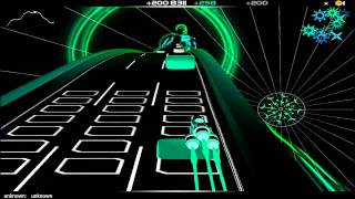 Audiosurf-DJ RAVINE'S BEST MIX EVER (Rebecca Black - Friday Electro Dubstep Mix)