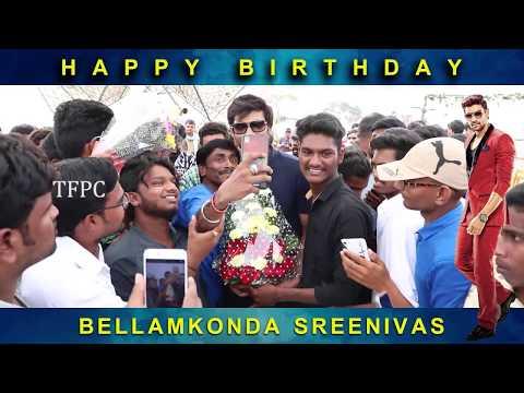 Bellamkonda Sai Sreenivas Birthday Celebrations @ BSS8 Sets | Nabha Natesh | TFPC