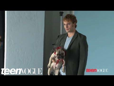 Sam Claflin's Teen Vogue Photo Shoot - Hunger Games Star in Teen Vogue
