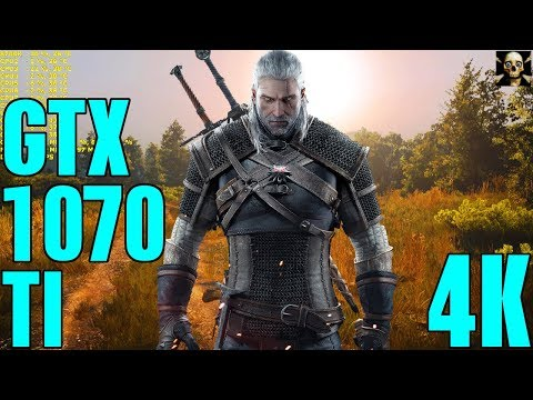 The Witcher 3 Gtx 1070 TI 4K UltraHD Fps Gameplay Hairworks On & Off