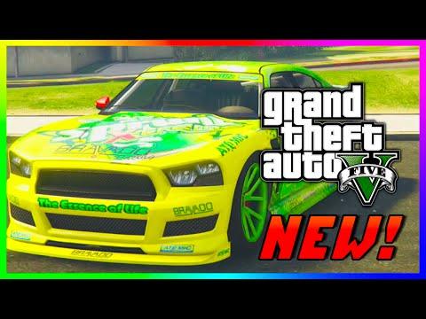 "GTA 5 NEW ""Sprunk Buffalo S"" R Stock Car! GTA 5 PS4 ..."