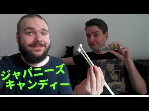 🍬 Germans Try Japanese Candy 🍬 Tokyo Direct 🍬