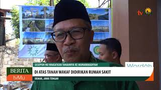 Sesepuh NU Wakafkan Tanahnya Ke Muhammadiyah