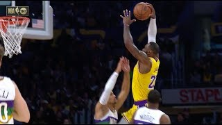 LeBron James Throws Down Ridiculous Dunk On Josh Hart