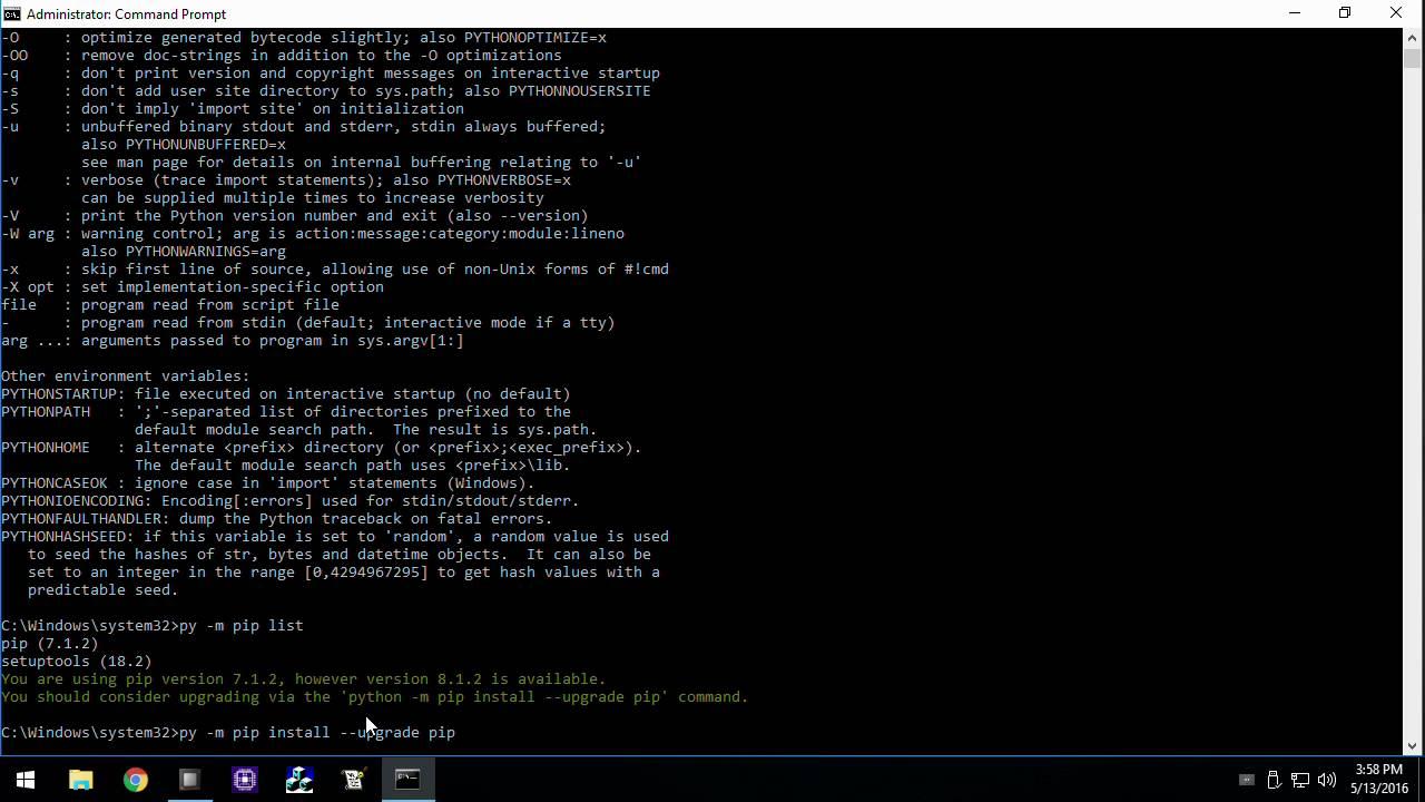 Python Rapid Start - YouTube
