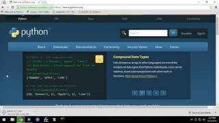 Python Rapid Start