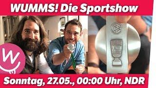 Wir haben Sandro Wagners Medaille: WUMMS im Fernsehen, Sonntag 0:00 Uhr! thumbnail