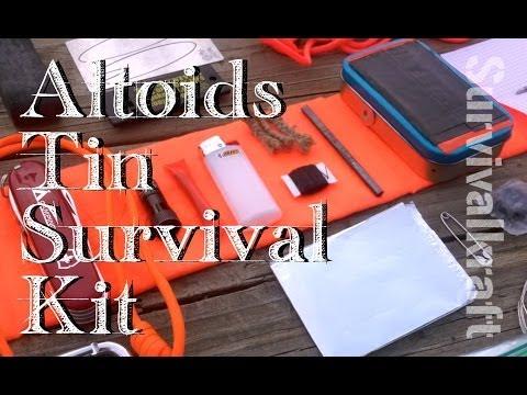 Innovative Altoids Tin Survival Kit