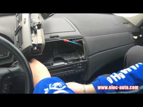 Lire des MP3 sur clé USB ou carte SD avec l'autoradio d'origine - BMW X3 E83 Autoradio Professional