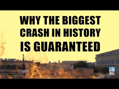 Why the BIGGEST Stock Market Crash in History Can't be Avoided!