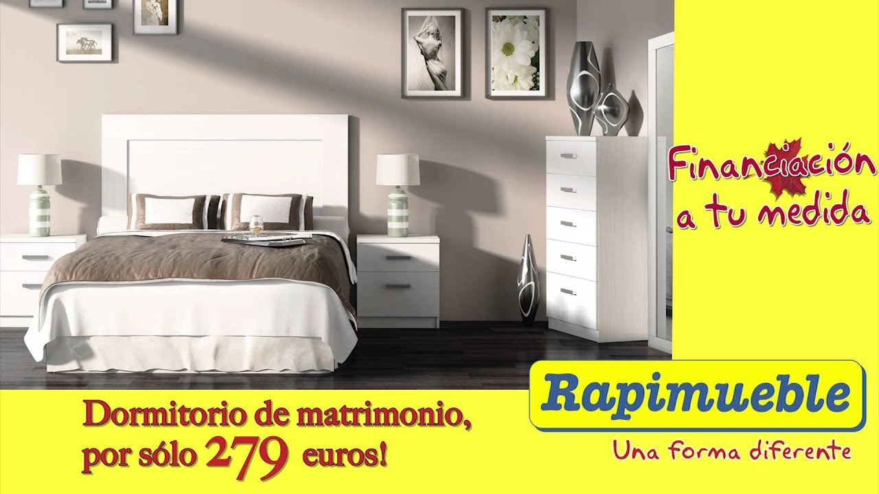 Spot rapimueble oto o youtube for Dormitorios rapimueble