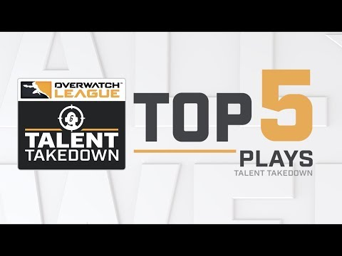 Overwatch League Top 5 Plays – Talent Takedown thumbnail