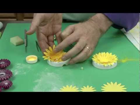 Super Easy Wired Gerbera Daisy by Chef Alan Tetreault of Glo