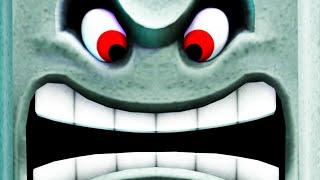 2 YouTuber sind in der Thwomp Hölle gelandet! ☆ Super Mario Maker 2