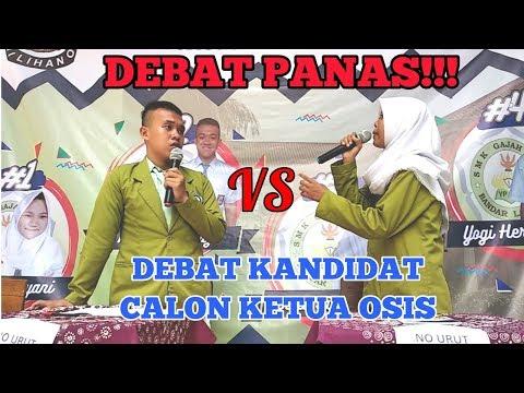 DEBAT KANDIDAT CALON KETUA OSIS SMK GAJAH MADA PERIODE 2018-2019
