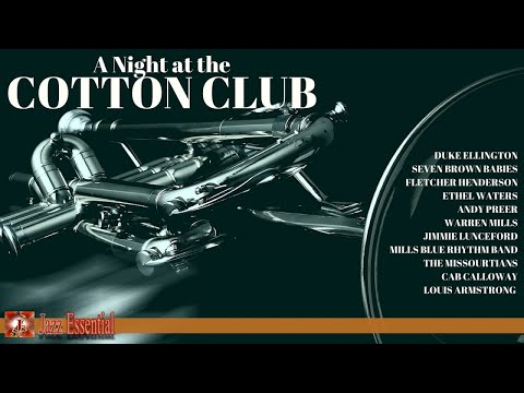 A Night at the Cotton Club | Duke Ellighton, Louis Armstrong, Cab Calloway...  | Jazz Music