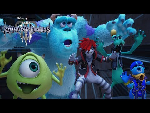 KINGDOM HEARTS III – D23 Expo Japan 2018 Monsters, Inc. Trailer
