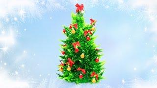 Как сделать новогодние украшения для кукол. How to make Christmas decorations.