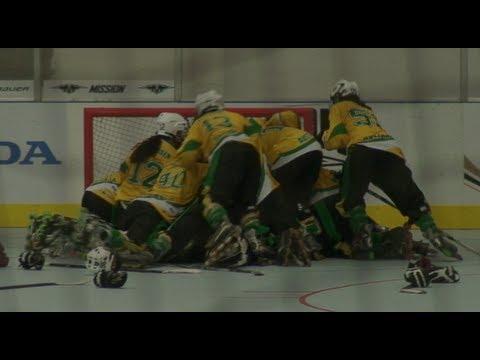 2013 FIRS InLine Hockey World Championships Junior Women - Australia v New  Zealand