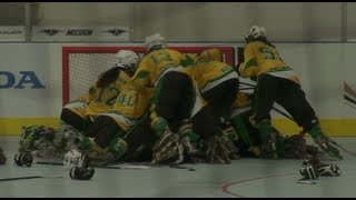 2013 FIRS InLine Hockey World Championships Junior Women - Australia v New Zealand