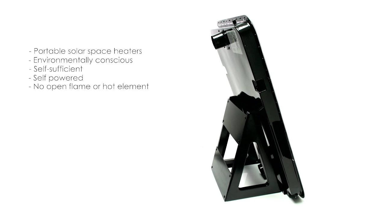 Portable Solar Air Heaters, Promo Video