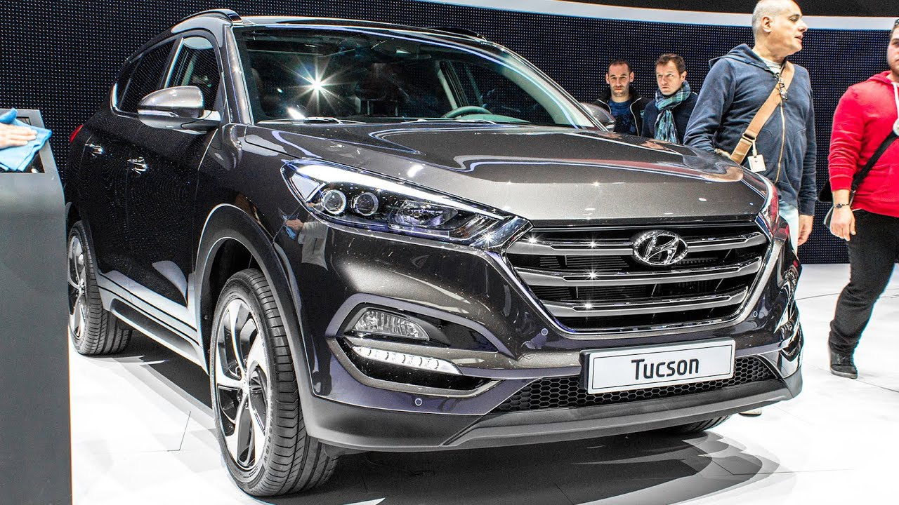 new hyundai tucson geneva motor show 2015 hq youtube. Black Bedroom Furniture Sets. Home Design Ideas