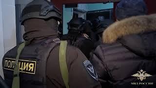 МВД России опубликовало видео задержания подозреваемого в краже картины Куинджи